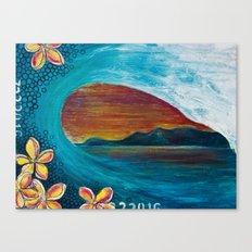 Sunset Tunnel Canvas Print