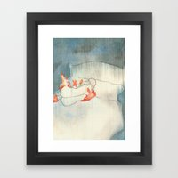 I Aged 58 Years Overnight Framed Art Print