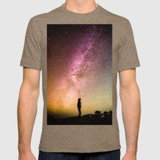 Under The Sky Mens Fitted Tee Tri-Coffee SMALL