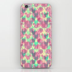 Mickey Mouse Arrows in Pink, Mint, and Yellow iPhone & iPod Skin