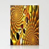 fractal Stationery Cards featuring Fractal by Digital-Art