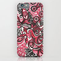 iPhone & iPod Case featuring Chaos by eefak