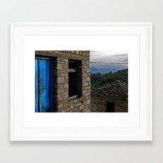 Variations of blue 1 Framed Art Print