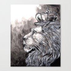 King Lion Canvas Print
