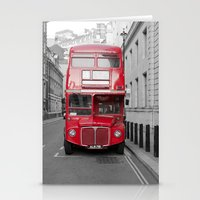 London Routemaster Stationery Cards