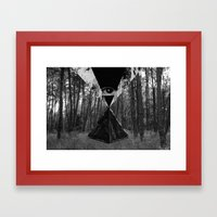 From the Eye Framed Art Print