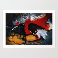 The Mountain And The Wha… Art Print
