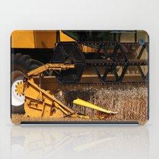 Combine harvester in detail iPad Case