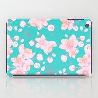 sakura blossoms iPad Case
