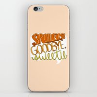 Goodbye, Sweetie iPhone & iPod Skin