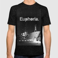 Euphoria Mens Fitted Tee Tri-Black SMALL