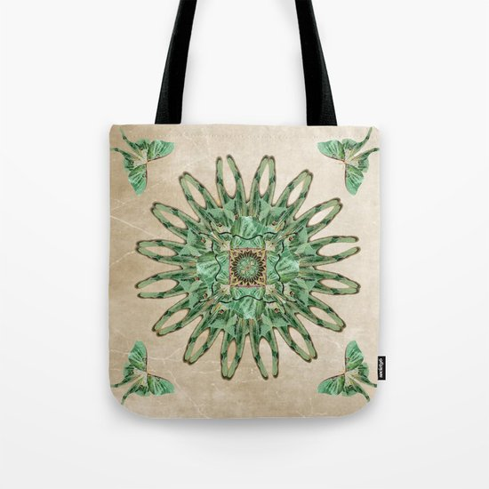Luna Moth Circle  Tote Bag