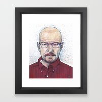 WALTER Framed Art Print