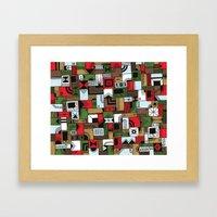 Not Home Alone Framed Art Print
