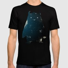 Mr. Cosmos (Color Version) Mens Fitted Tee Black SMALL