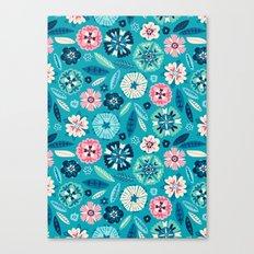 Flower Pop Canvas Print