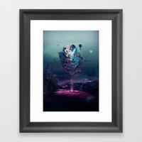 Flying Object Framed Art Print
