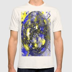marble Mens Fitted Tee Natural SMALL