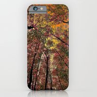 iPhone & iPod Case featuring Colored forest by Pirmin Nohr