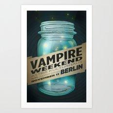VAMPIRE WEEKEND Art Print