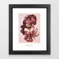 Marquise Framed Art Print