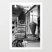 A taco place Art Print