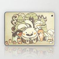 Bunnies And Carrots In T… Laptop & iPad Skin