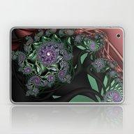 Lilac Fractal Garden Laptop & iPad Skin
