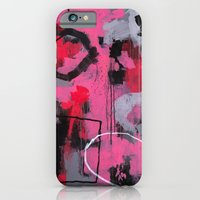 Abstract Painting - Rolling the Big Wheel iPhone 6 Slim Case