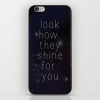 Look How They Shine iPhone & iPod Skin