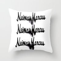 NM drips Throw Pillow
