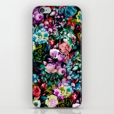 Multicolor Floral Pattern iPhone & iPod Skin