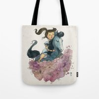 Blue Horse Year 2014 Tote Bag