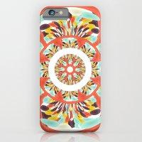 Colorful mandala iPhone 6 Slim Case