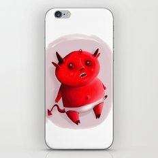 Little devil iPhone & iPod Skin