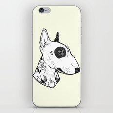 Bull Terrier dog Tattooed iPhone & iPod Skin