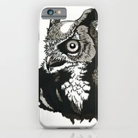 Eastern Screech Owl iPhone 6 Slim Case