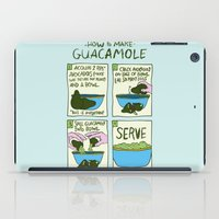 HOW TO MAKE GUACAMOLE iPad Case