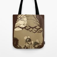 Woodland wars Tote Bag
