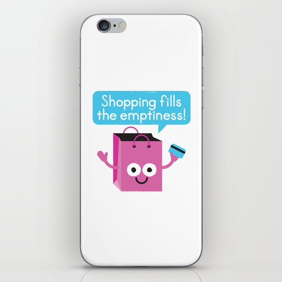 Retail Therapy iPhone & iPod Skin