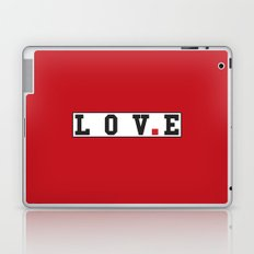 love text Laptop & iPad Skin
