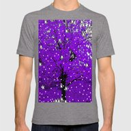 Trees A Twinkle Mens Fitted Tee Tri-Grey X-LARGE