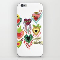 Mi Sangrado Corazón♥ iPhone & iPod Skin