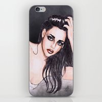 Kristen Stewart iPhone & iPod Skin