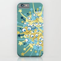 Bubbly Creatures Print iPhone 6 Slim Case