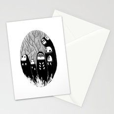 Crowded Wood Stationery Cards