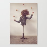 The Juggler Canvas Print