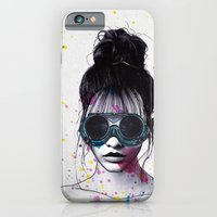 iPhone Cases featuring Splat  by Jenny Liz Rome