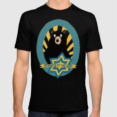 Strength of the bear! Mens Fitted Tee SMALL Black
