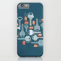 iPhone & iPod Case featuring Old-Fashioned by Kinnon Elliott Illustration & Design